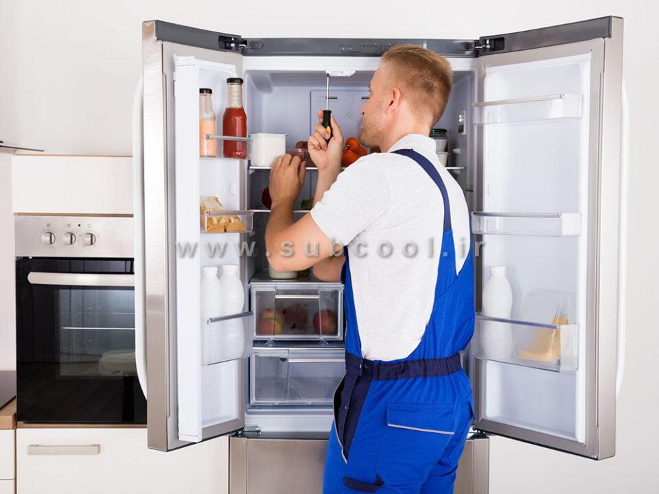 تعمیر یخچال خانگی